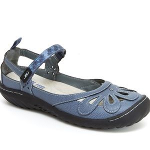 Jambu Wildflower Encore Mary Jane Slide Shoes